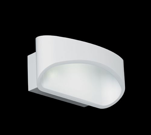 5W Led White Wall Light JOHNSON-WH